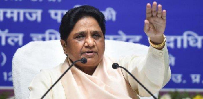 Bahujan Samaj Party (BSP) supremo Mayawati. Credit: PTI Photo