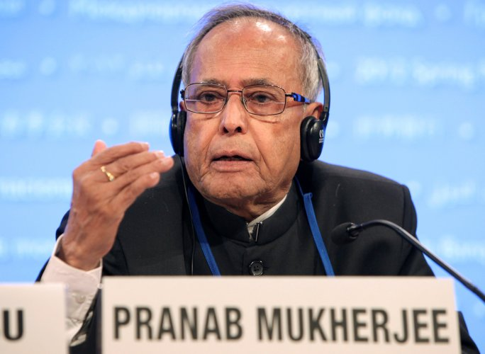 In one incident, Pranab Mukherjee had entered into an argument in Parliament about the practices of Hindu Gods. Credit: Reuters Photo