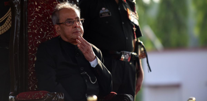 Mukherjee was never a mass leader but left an indelible imprint as India went through internal strife in the troubled 80s. Credit: AFP