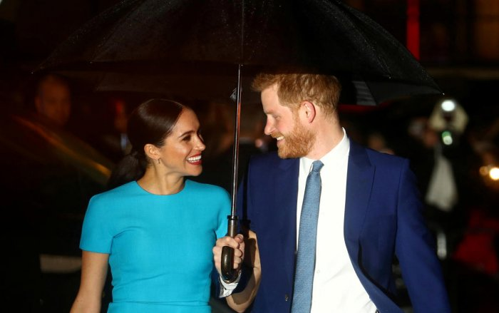 Britain's Prince Harry and his wife Meghan, Duchess of Sussex. Credit: Reuters
