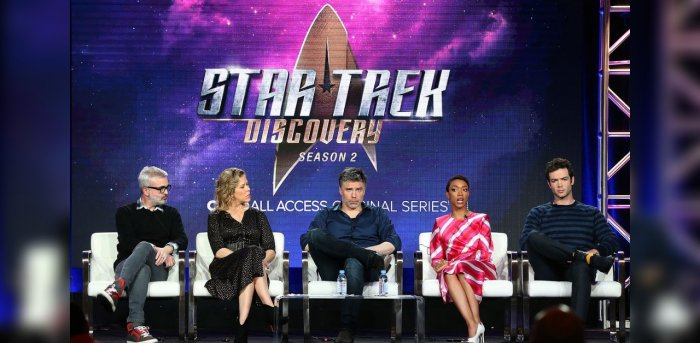 The cast of Star Trek. Credit: Getty images