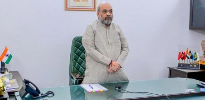 Home Minister Amit Shah. Credit: PTI Photo