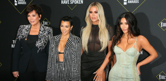 Kris Jenner, Kourtney Kardashian, Khloé Kardashian and Kim Kardashian. Credit: AFP Photo