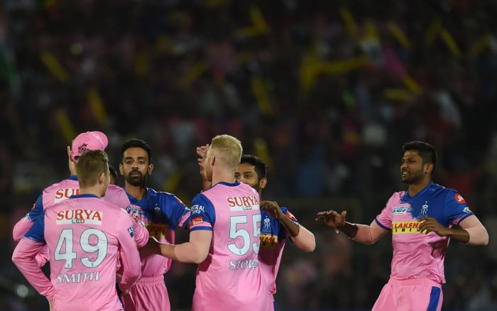 Rajasthan have fielded an unchanged team, while Sunrisers have made two changes. (PTI File Photo)