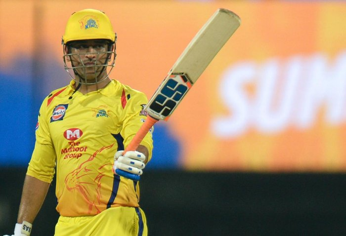 Super Kings posted 175 for five on Sunday night and Dhoni led the team's recovery from 27 for three with an unbeaten 75 off 46 balls. AFP photo