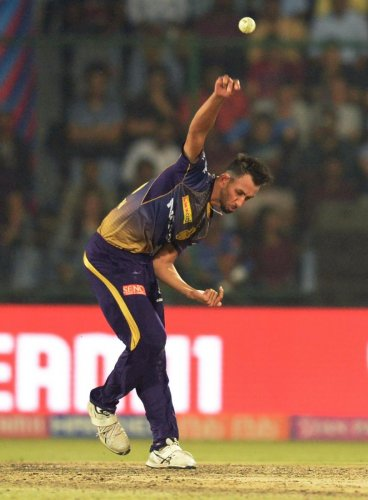 DETERMINED: KKR's Prasidh Krishna says the team has heaped a lot of faith on him and he is keen to deliver. AFP