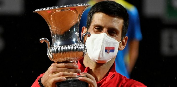Novak Djokovic Wins Rome Title I Moved On After Us Open Default Deccan Herald