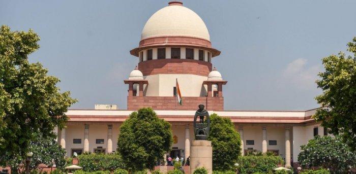 The Supreme Court of India in New Delhi. Credit: PTI File Photo