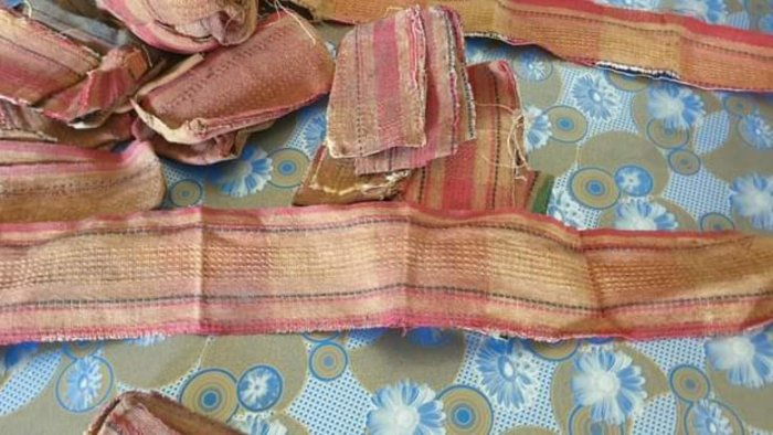 The drug-laced cloth, locally called 'kani kapur'. Credit: DH.