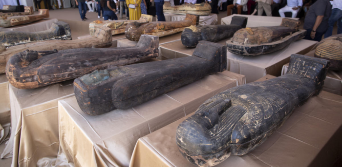 Egypt unveils coffins buried 2,500 years ago | Deccan Herald. Archaeological discoveries