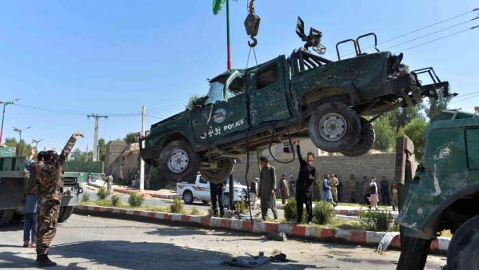 Eight killed in suicide attack targeting Afghan provincial governor |  Deccan Herald