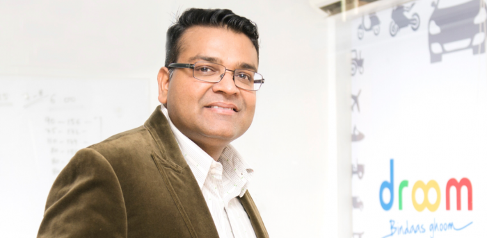 Founder of two e-commerce companies, Droom and ShopClues, Sandeep Aggarwal. Credit: Sandeep Aggarwal website