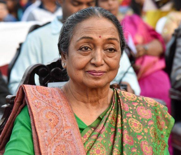 Congress cries foul over Meira Kumar's blocked Facebook page   Deccan Herald