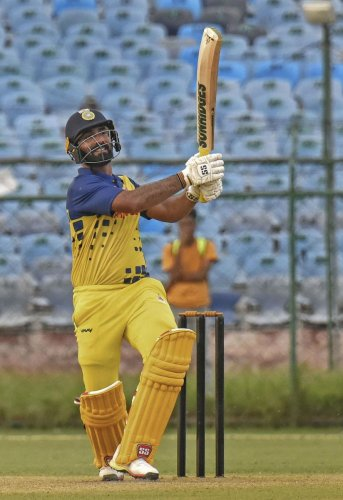 Tamil Nadu captain Dinesh Karthik will be looking to lead from the front when his side takes on Jharkhand in the crucial final Super League clash in Surat on Wednesday. PTI