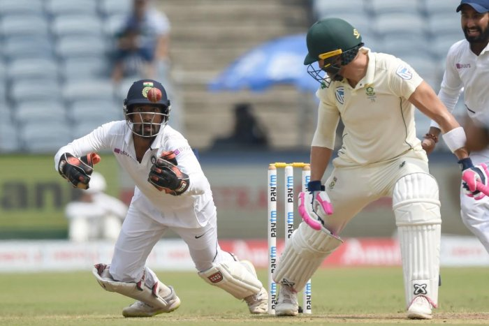 During the course of this series, Wriddhiman Saha has once again proved that he is one of the best 'keeper in the country. AFP