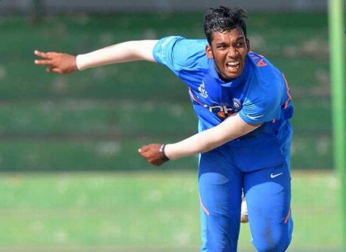 Left arm spinner Atharva Ankolekar has had a long and hard journey to the top