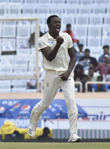 South Africa pacer Kagiso Rabada produced a wonderful performance on Saturday, bagging two wickets in the process. PTI