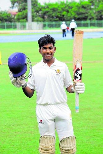 Top-order batsman Chaitanya Shankar has had a consistent season this year.