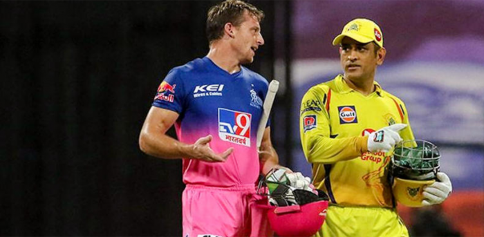 Mahendra Singh Dhoni gifts an elated Jos Buttler his 200th IPL match jersey   Deccan Herald