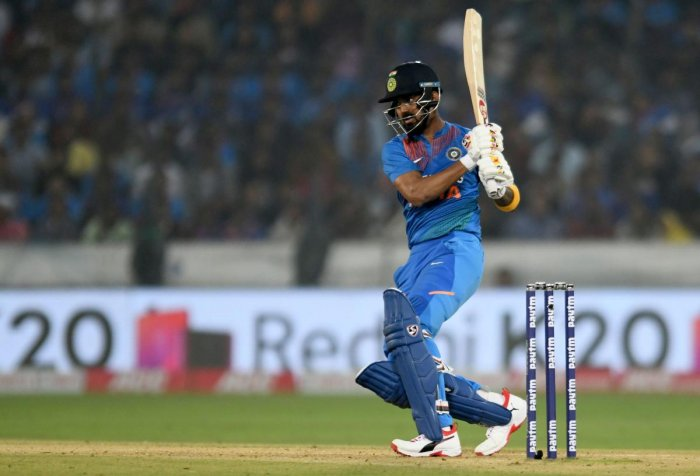 Rahul also admitted that while batting first there was a lot of pressure and the team had faltered in the past. AFP