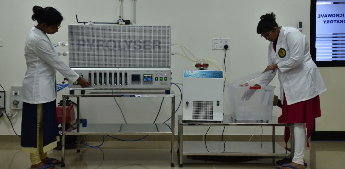 The facility at the Centre for Advanced Research in Environmental Radioactivity (CARER), Mangalore University.
