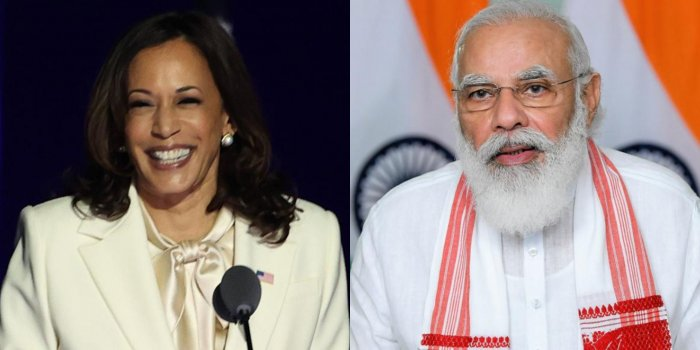 India will receive Covid-19 vaccines from United States as part of first 25 million doses, US VP Kamala D Harris told PM Narendra Modi.
