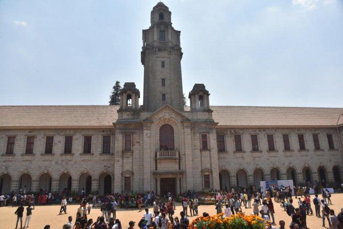Indian Institute of Science, Bengaluru. Credit: DH