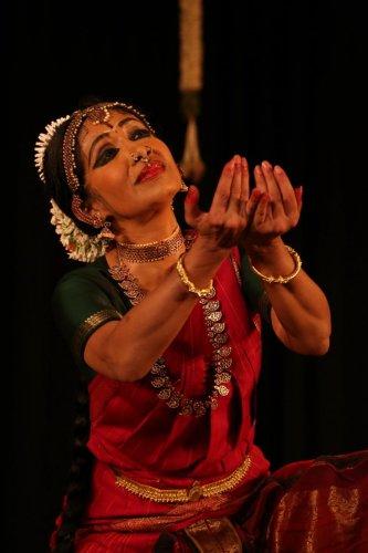 Bharatanatyam danseuse Alarmel Valli