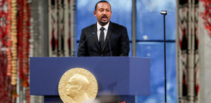 Nobel Peace Prize Laureate Ethiopian Prime Minister Abiy Ahmed Ali. Credit: Reuters Photo