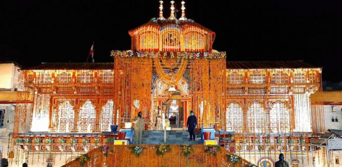 Badrinath Temple. Credit: PTI Photo
