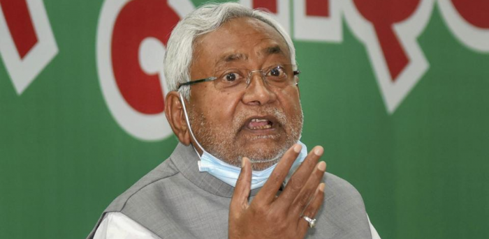 Bihar Chief Minister Nitish Kumar. Credit: PTI Photo