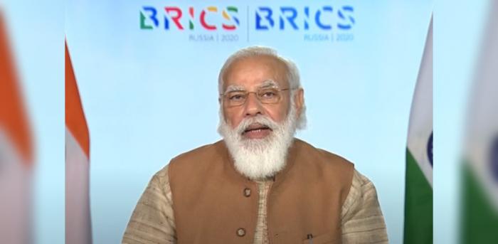 Prime Minister Narendra Modi. Credit: Twitter (@DDNewslive)