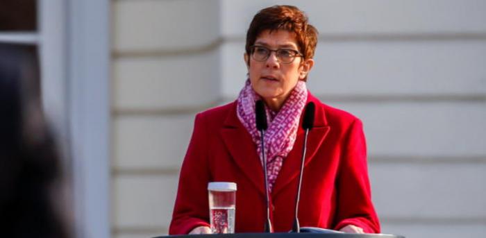 German Defence Minister Annegret Kramp-Karrenbauer. Credit: Reuters Photo