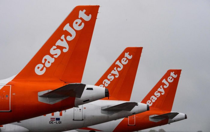 Easyjet. Credit: AFP