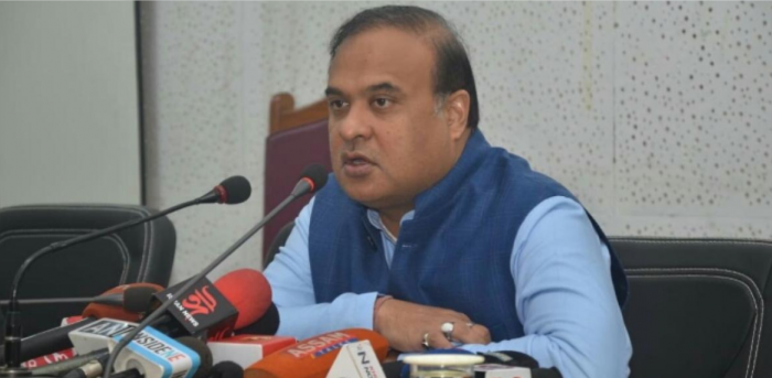 Assam minister and BJP's strategist in the Northeast Himanta Biswa Sarma.