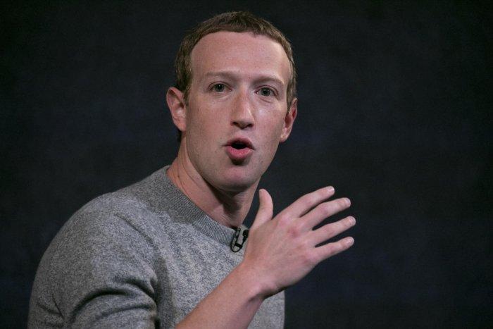 Facebook CEO Mark Zuckerberg. Credit: AP