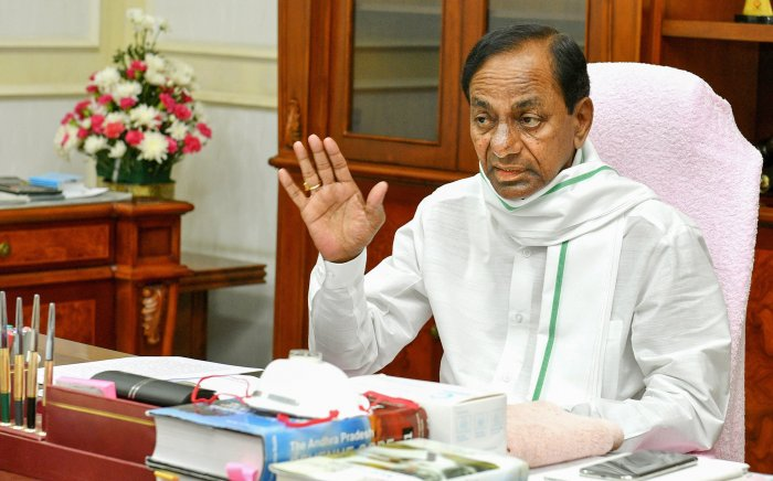 Telangana Chief Minister K Chandrasekhar Rao. Credit: PTI File Photo