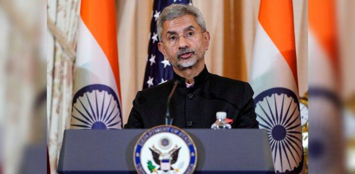 Union External Affairs Minister S Jaishankar. Credit: Reuters File Photo