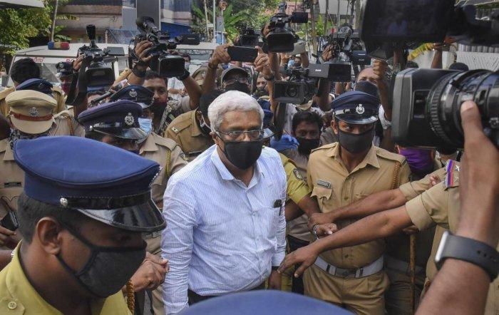 M Sivasankar, former Principal Secretary to Kerala Chief Minister. Credits: PTI Photo