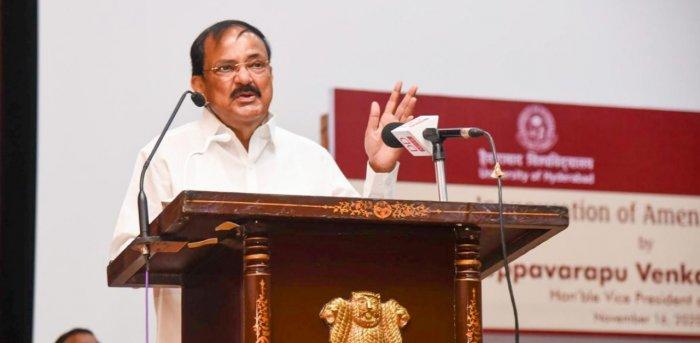 M Venkaiah Naidu. Credit: PTI.