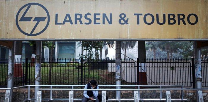 Larsen and Toubro logo. Credit: Reuters Photo
