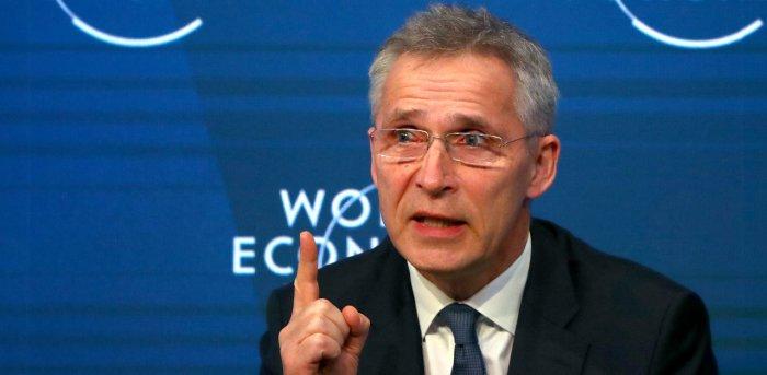 NATO Secretary General Jens Stoltenberg. Credit: Reuters File Photo