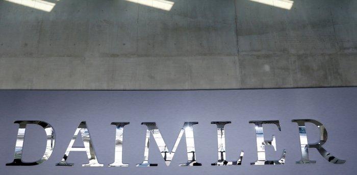 Daimler logo. Credit: Reuters Photo