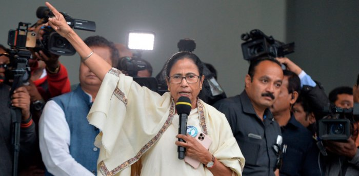 West Bengal Chief Minister Mamata Banerjee. Credit: AFP File Photo