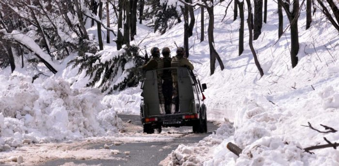 Two other soldiers -Ramesh Chand and Gurvinder Singh -are undergoing treatment. Credit: PTI Photo