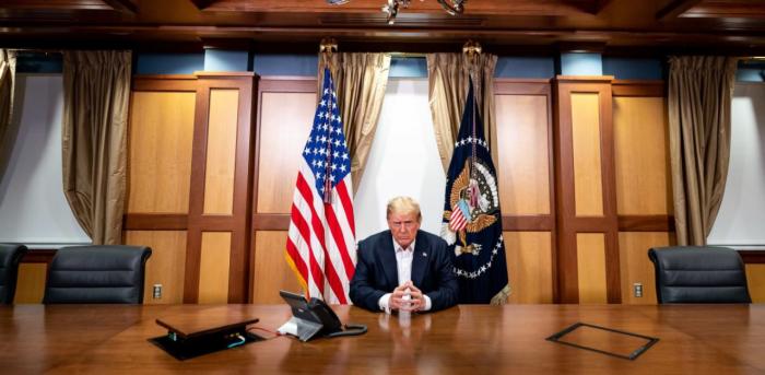 US Presidenti Donald Trump. Credit: AFP