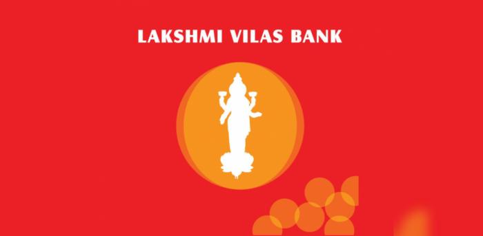 Lakshmi Vilas Bank logo.