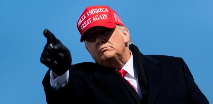 US President Donald Trump. Credit: AFP Photo