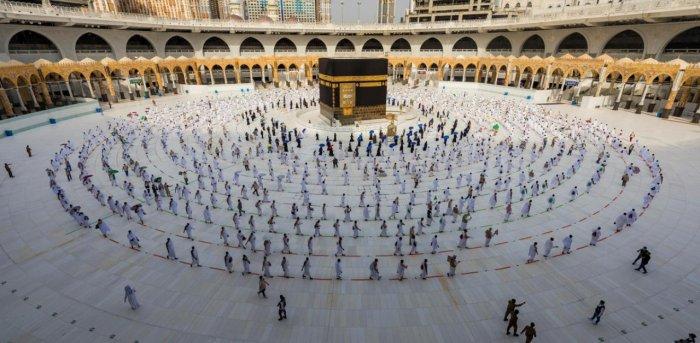 The annual Haj pilgrimage. Credit: Reuters Photo