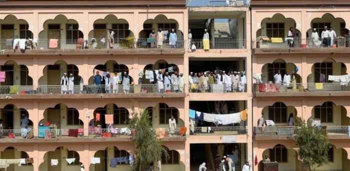 Darul Uloom Haqqania seminary in Akora Khattak. Credit: AFP Photo